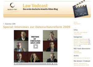 Law Vodcast